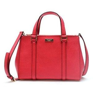 Kate Spade Newbury Lane Small Loden Satchel NWOT